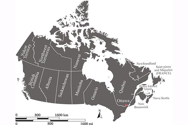 Map Of Canada With City Names.Spp Colleges In Canada With Province And Cities Study Abroad