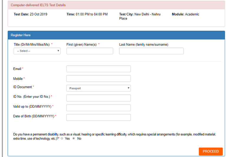 How to Register for IELTS